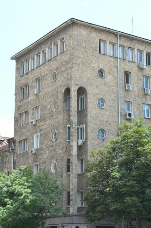 Petit immeuble d'habitation