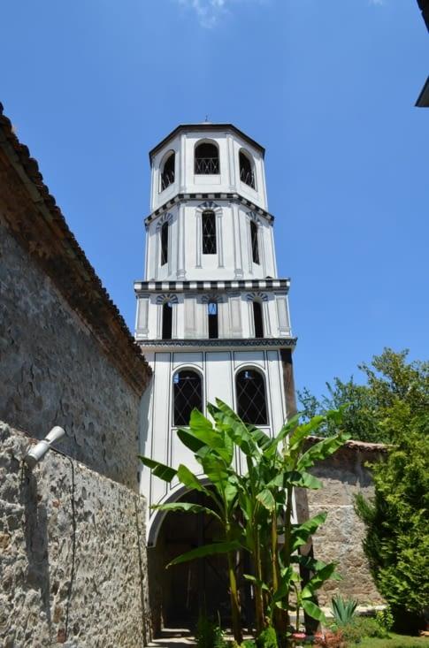 Clocher de l'église Sainte Constantine