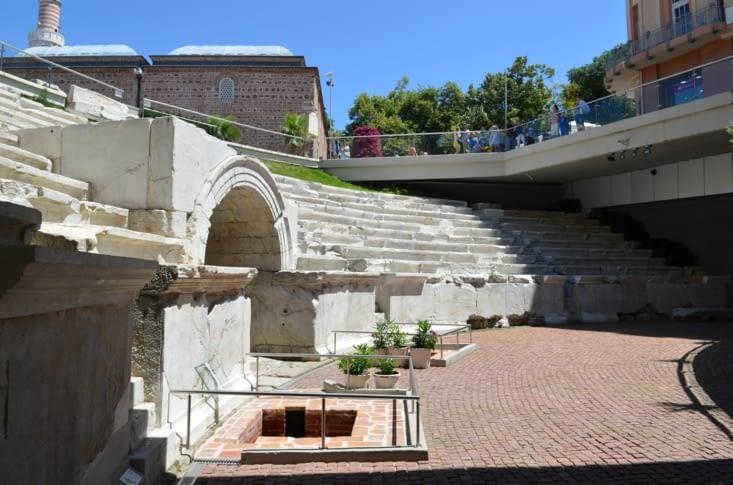Reste du stade romain