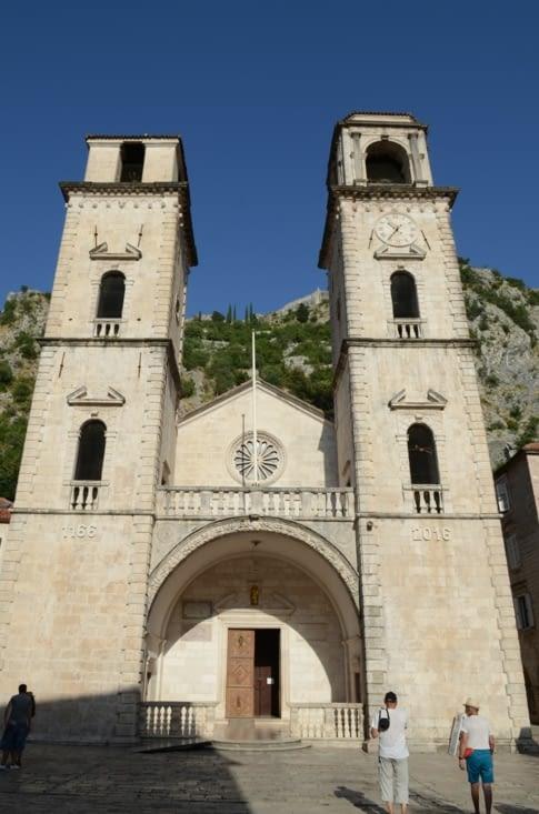 Cathédrale Saint-Tryphon, vieux-centre de Kotor