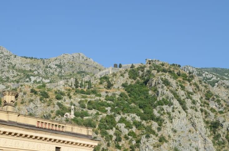 Forteresse de Kotor,  quartiers des vassaux de Jean-Petar III