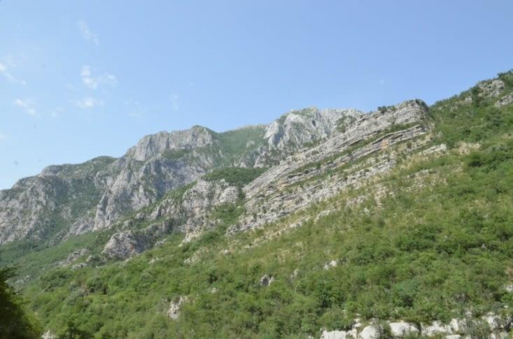 Petite vue des montagnes