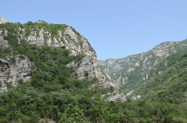 Petite vue II des montagnes
