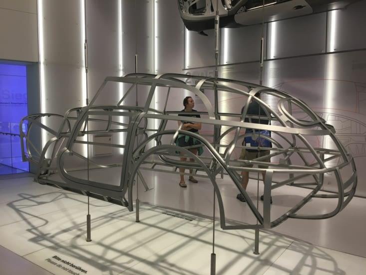 Structure de la BMW 328