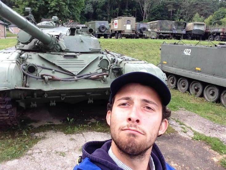 Le musée des anciens véhicules de l'armée