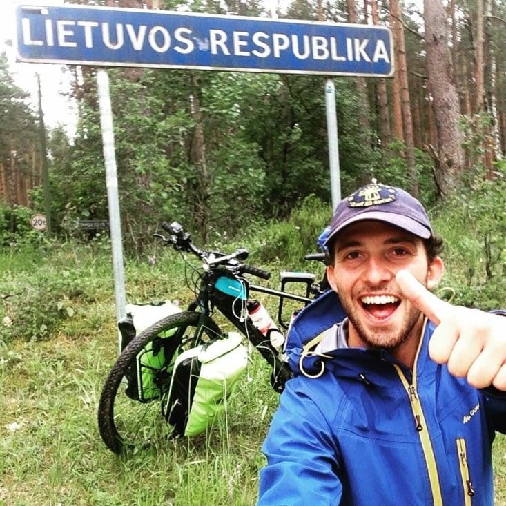 Mon arrivée en Lituanie