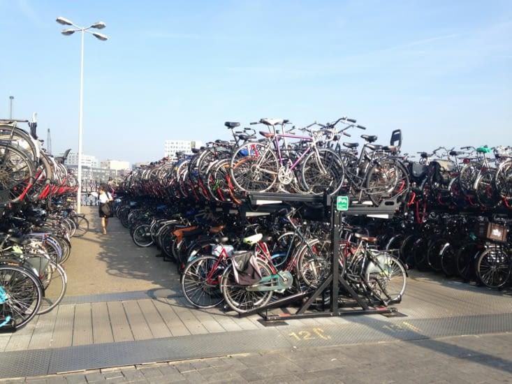 Où qu'il est mon vélo ?
