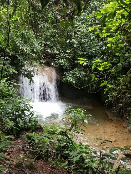 La cascade rafraichissante