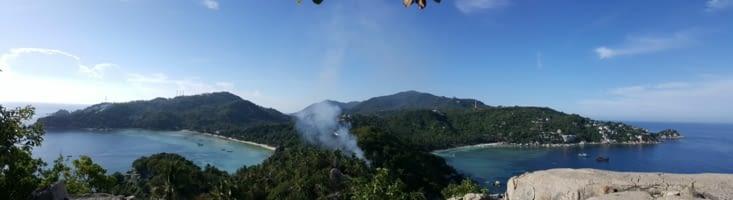 Point de vue John Suwan au sud de l'île