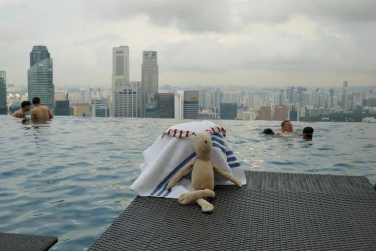 et pour finir, mon doudou à Singapour.