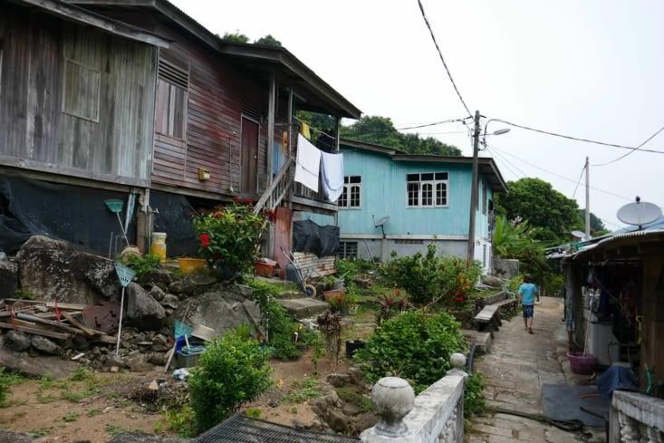 Une ruelle du village
