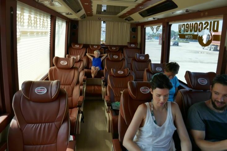 Voici les bus VIP du Vietnam