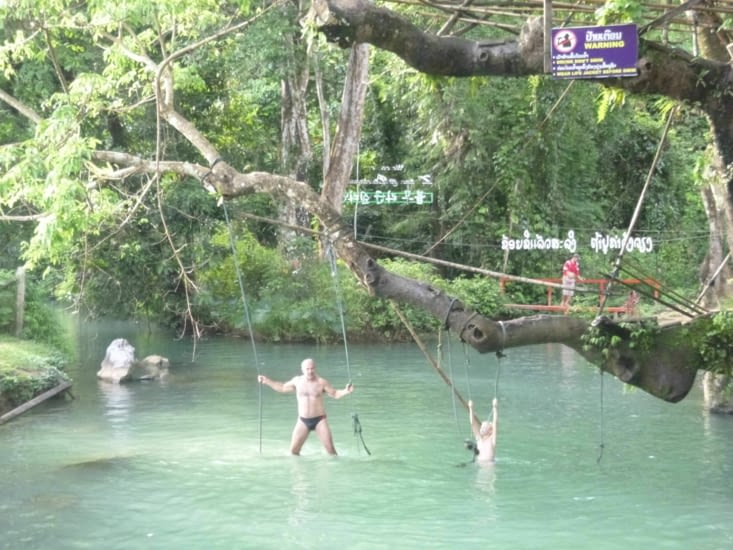 On termine par la baignade au blue-lagoon 1