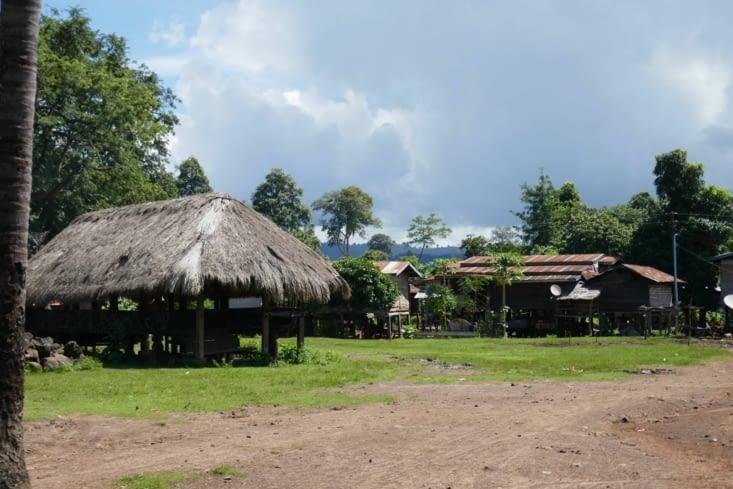 Visite d'un village reculé