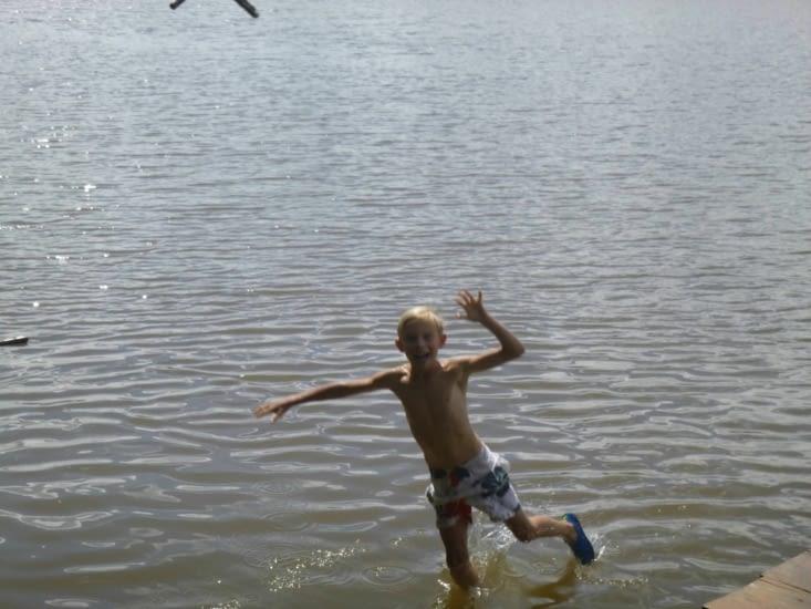 Je marche sur l'eau....