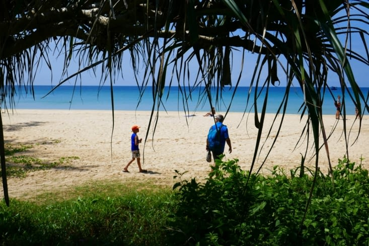 Nous avons exploré notre île à la recherche d'éventuels autres habitants