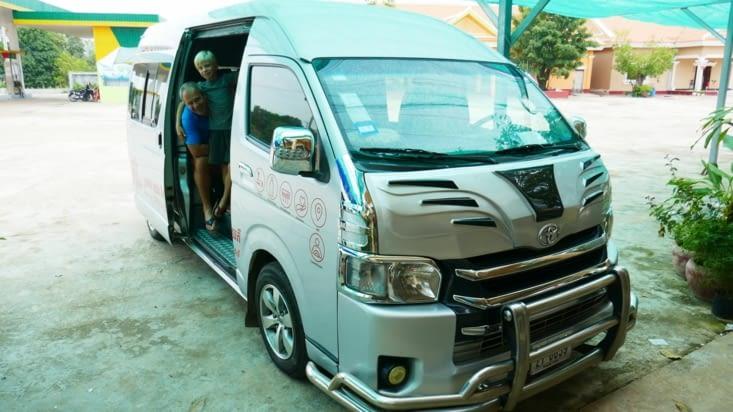 sur la route pour Phnom Penh