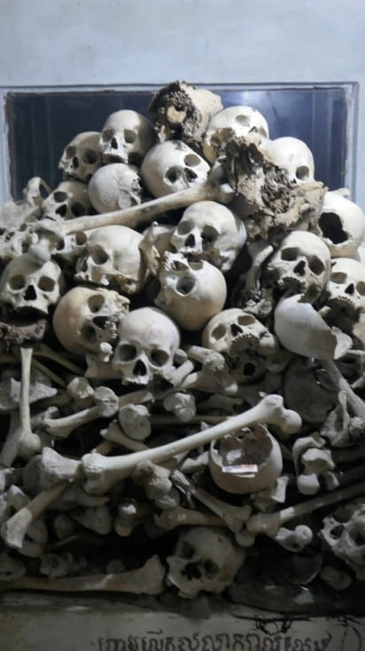 Des ossements humains témoignent de l'extermination diabolique