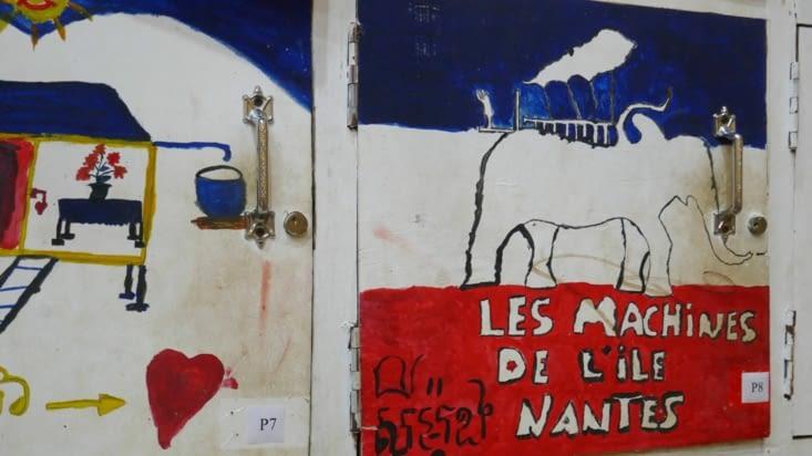 Un clin d'oeil aux machines de l'île de Nantes
