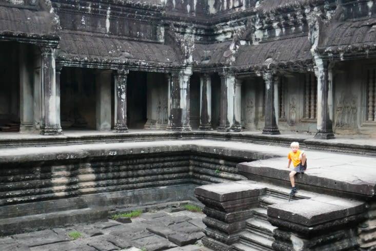 Un viking à Angkor wat