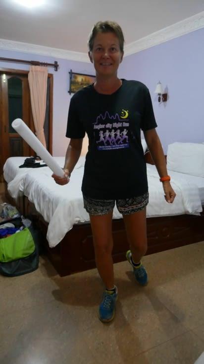 En exclusivité, la toute jeune française venue défendre nos couleurs au marathon des 5 km
