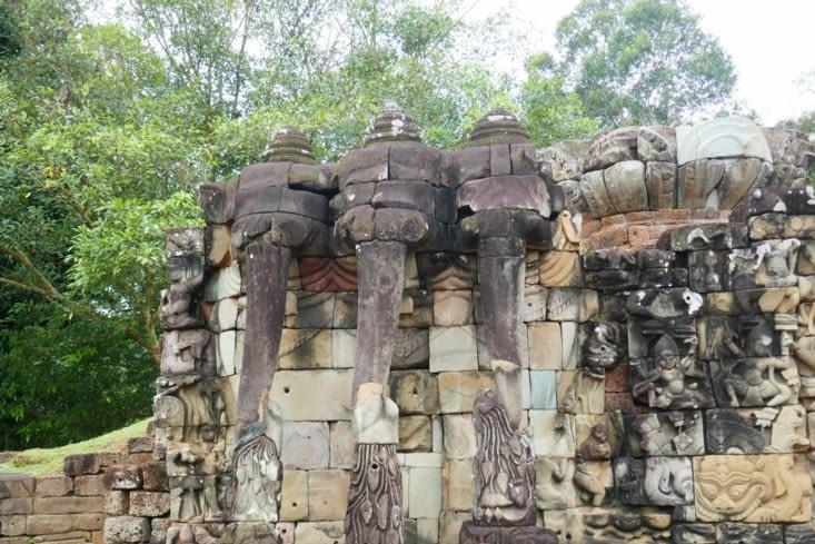 La terrasse des éléphants