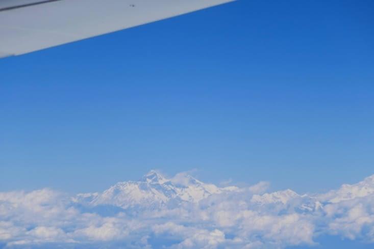 L'Himalaya vu de l'avion