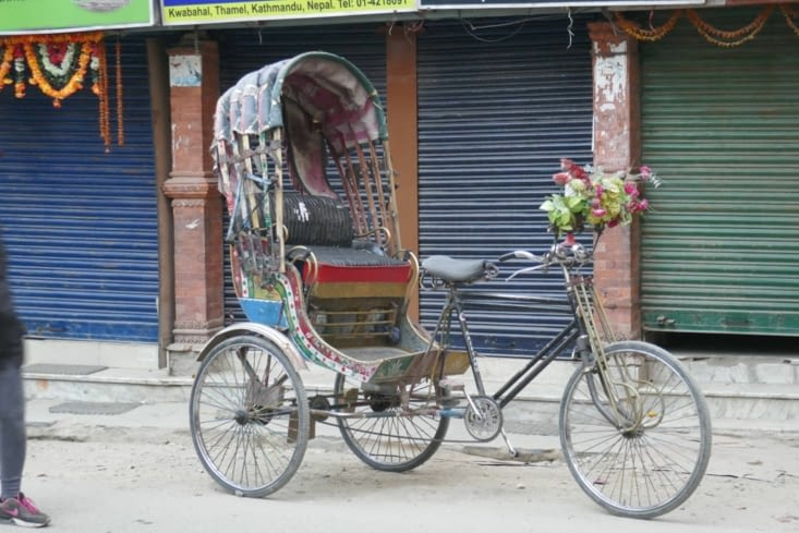 un beau rickshaw