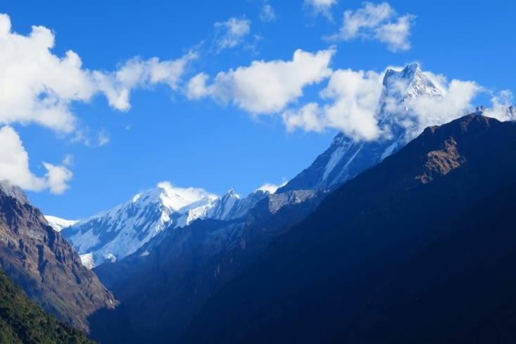 C'est rassurant les montagnes sont toujours là