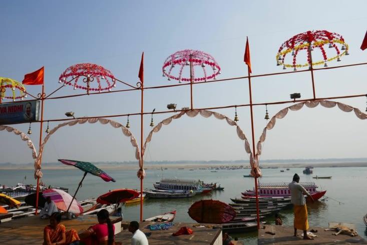 Les décorations des ghats