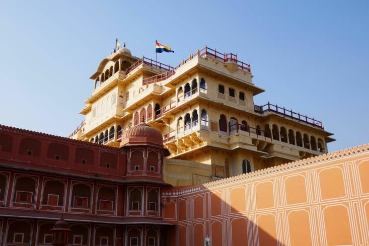 Le palais où vit toujours le Maharadjah
