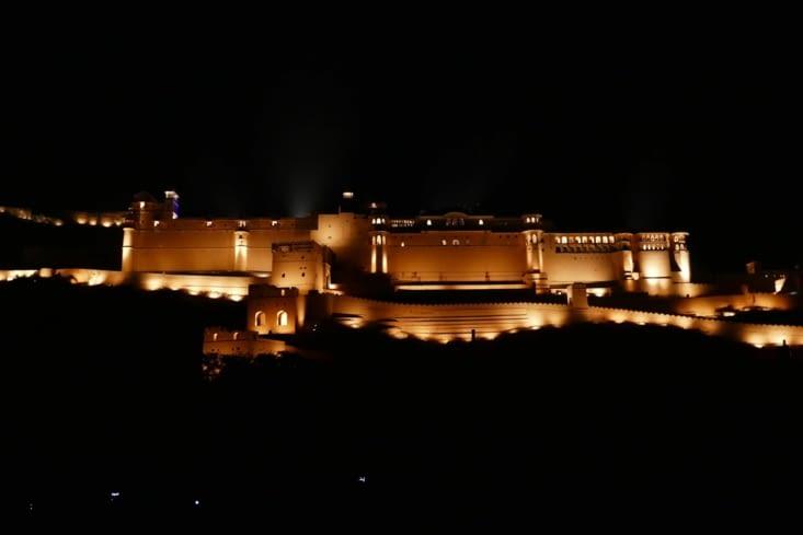 et pour finir, le fort de nuit