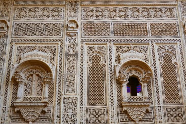 Fine comme une cathédrale mais indienne; un palais quoi !
