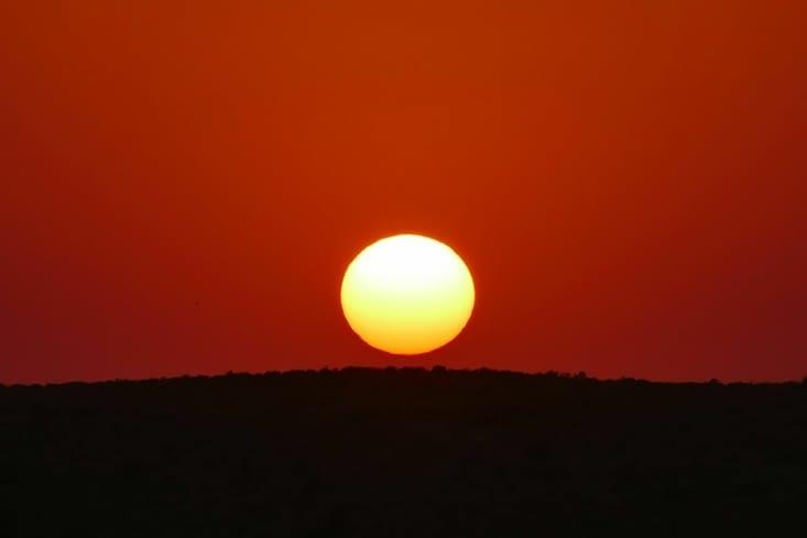 Coucher de soleil sur la dune 105