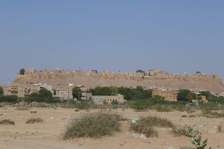 le fort de Jaisalmer