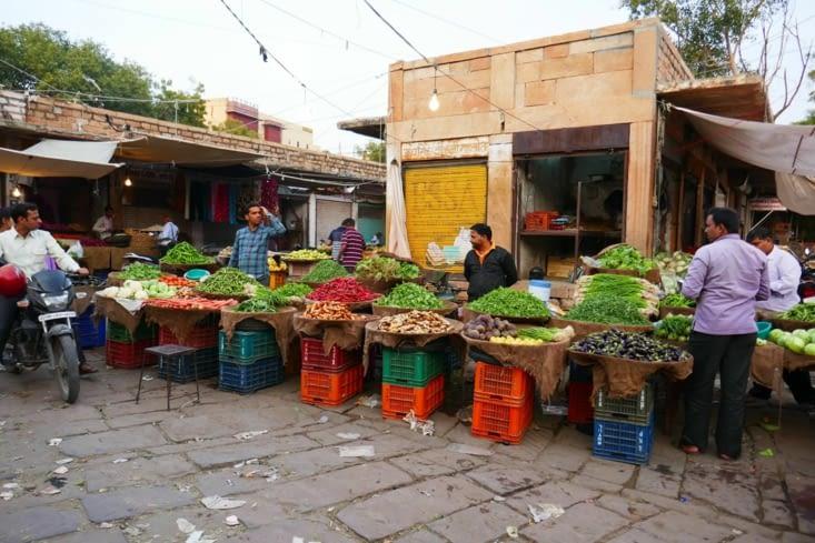 Les marchands de légumes