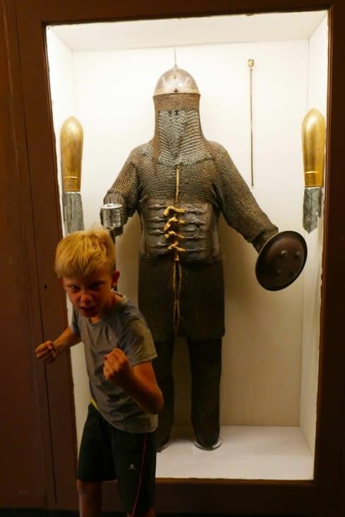 Attention, notre viking sera invincible avec cette armure de maharadjah