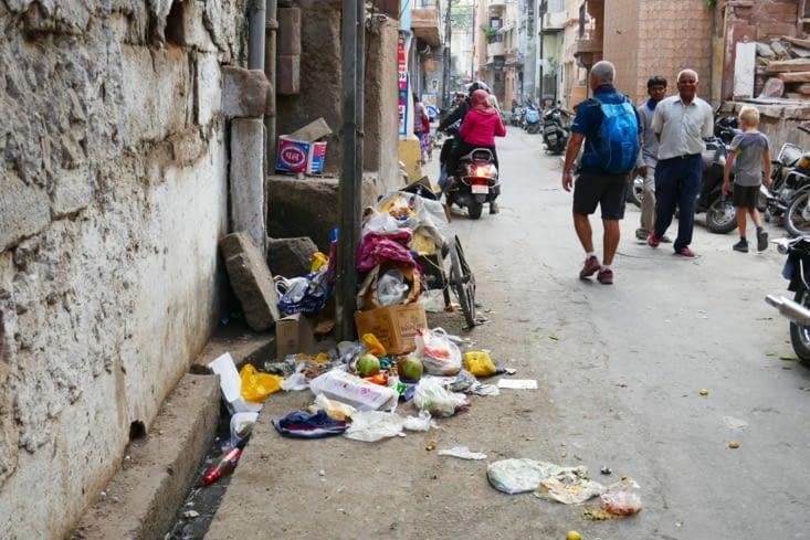 Grève des éboueurs en Inde ?