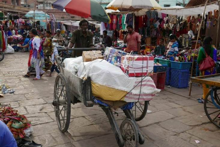 Toujours près du marché