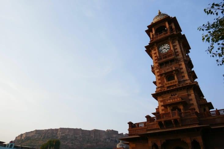 le big ben indien : la clock tower construit par les anglais