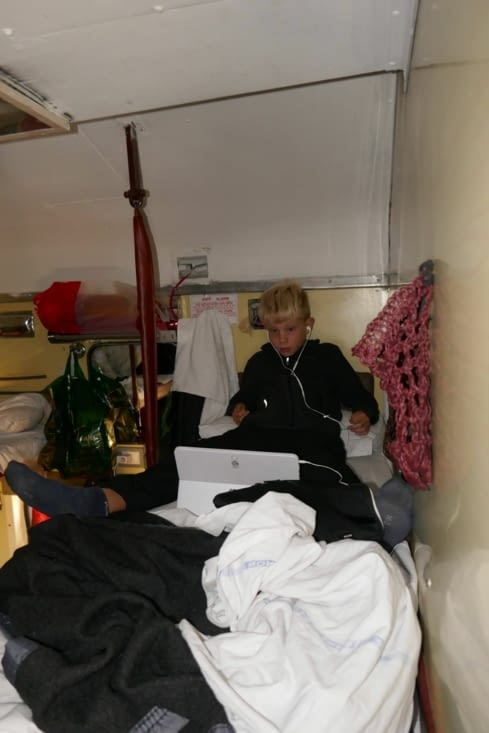 Et la couchette privée du prince