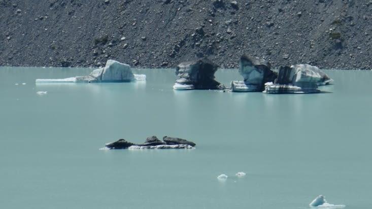 Mais on a quand même nos petits icebergs tout en glace...eh oui..!