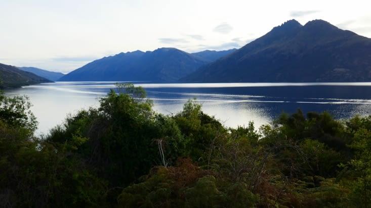 Avec vue sur le lac Wakatipu