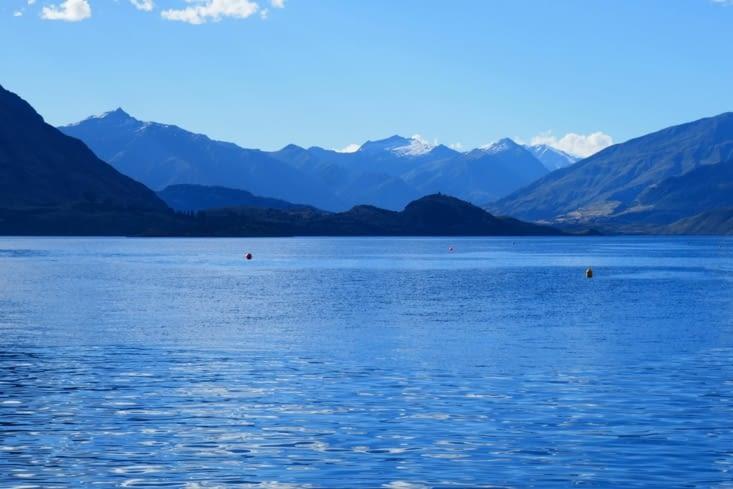 Voici le lac dans lequel nous allons nous baigner tous les 3.