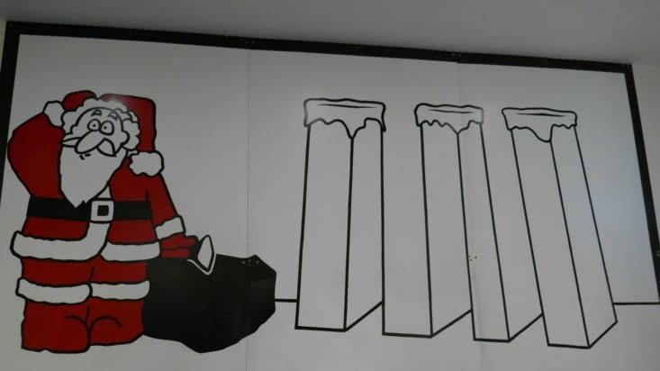 Le Père Noël se demande combien il y a de cheminées