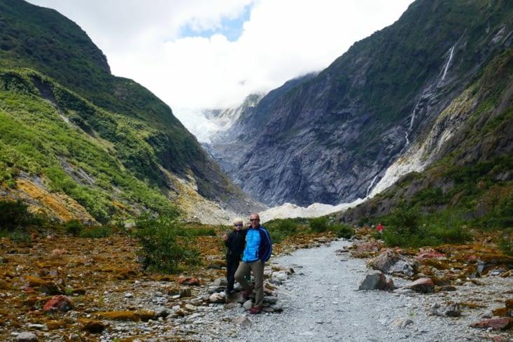 Les ASM (Agent Secret Militaire) en mission près du glacier