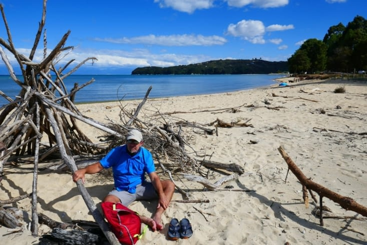 Première plage avec une micro sieste