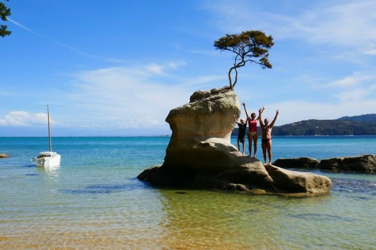 Drame en NZ: toute une famille s'exile sur une île déserte