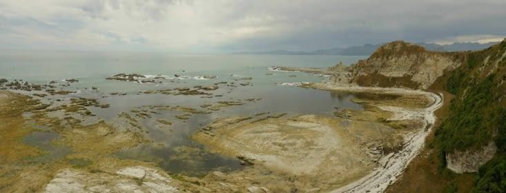 L'extrémité de cette péninsule est très différente des autres endroits visités