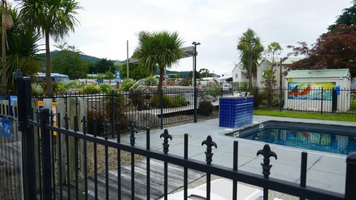 Notre camping avec piscine et bains chauds
